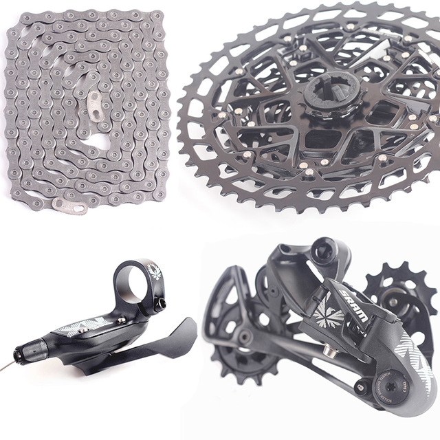 US $242 0 |2018 NEW SRAM NX EAGLE 1x12 11 50T 12s speed Groupset Kit  Trigger Shifter Rear Derailleur Cassette Chain-in Bicycle Derailleur from  Sports