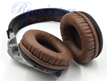 Белковые коричневые амбушюры, амбушюры, подушки для замены наушников Pioneer HDJ1000 HDJ2000 HDJ15000 HDJ 1000 hdj 1000 2000