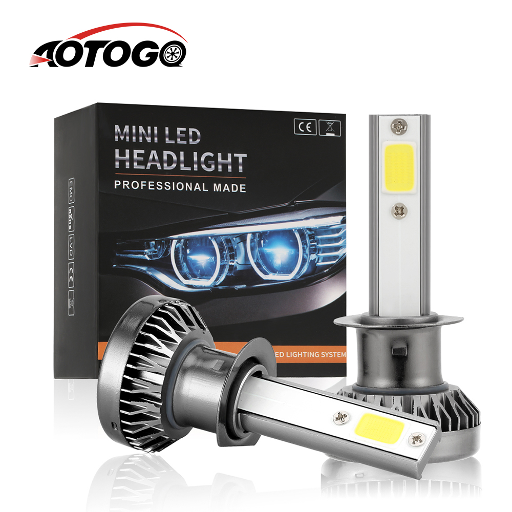 2PCS Car <font><b>Led</b></font> Headlight Bulb <font><b>LED</b></font> H7 H11 <font><b>H1</b></font> H8 H9 9005 9006 HB3 HB4 6000K <font><b>Led</b></font> Mini <font><b>Lamp</b></font> Light Auto Headlights Kit <font><b>Led</b></font> Automotivo image