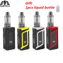 Newest SUB TWO 80w vape kit 2000mAh Battery 3.5ml Atomizer Electronic Cigarette temperature control huge vaporizer