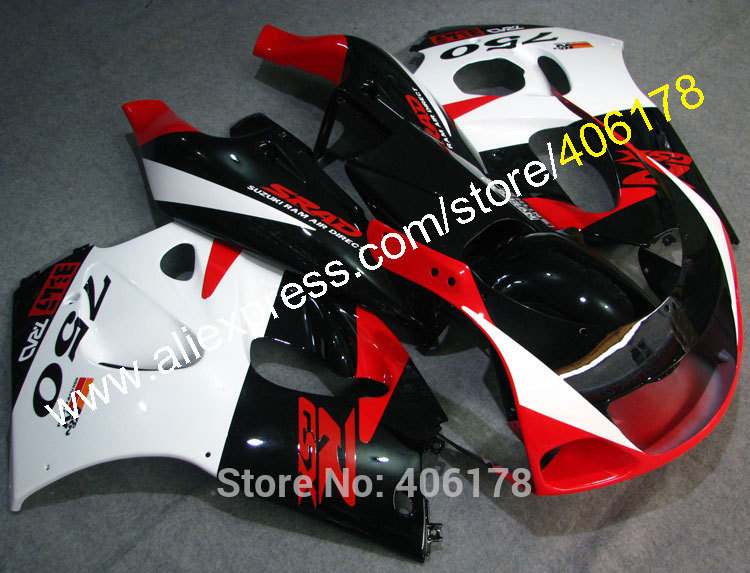 Горячие продаж,для Suzuki GSXR600 750 GSXR600 GSXR750 SRAD 96 97 98 99 00 1996 1997 1998 1999 2000 многоцветные мотоцикл обтекатель