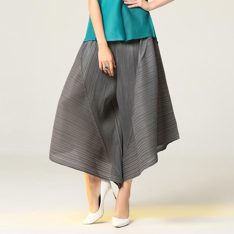 Pur Dark Stock Jambes En Irrégulière Miyake Points Gratuite Mode Larges Couleur À gris Blue De Fold kaki Livraison Pantalon Neuf w0Zna