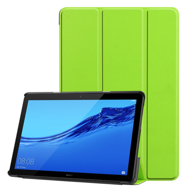 Slim Flip Leather Full Coverage Tablet Shell For Huawei Mediapad T5 AGS2-W09 AGS2-L09 10.1