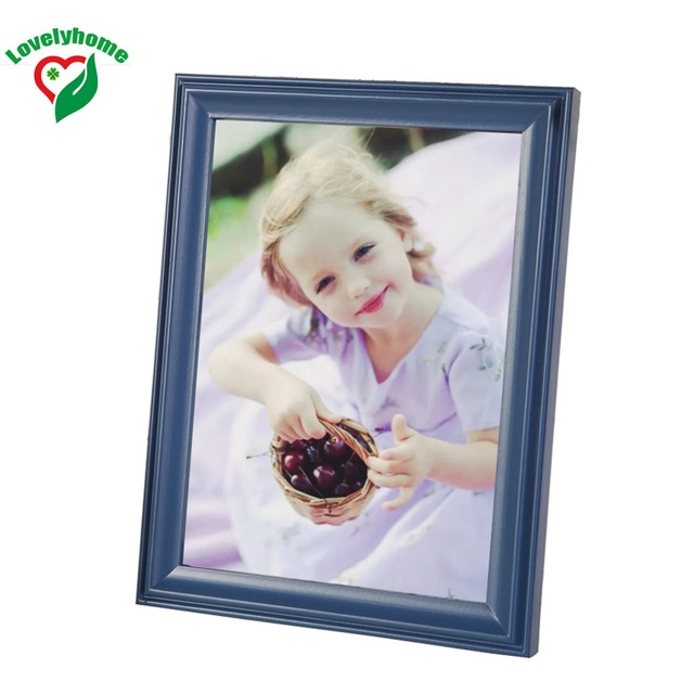 MiNi Wooden Picture Frames Blue Various Sizes Photo Frames Online ...