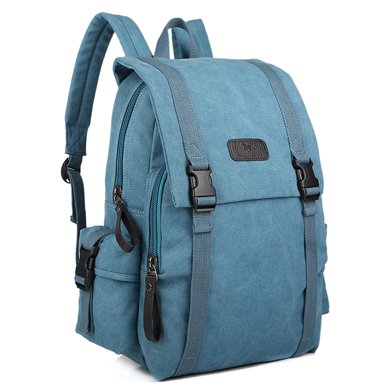 Large Capacity Men Travel Backpack Canvas School Bag Vintage Retro Women Laptop Backpack Bag 14 Inch Casual Travel Rucksack 1108 men s casual bags vintage canvas school backpack male designer military shoulder travel bag large capacity laptop backpack h002