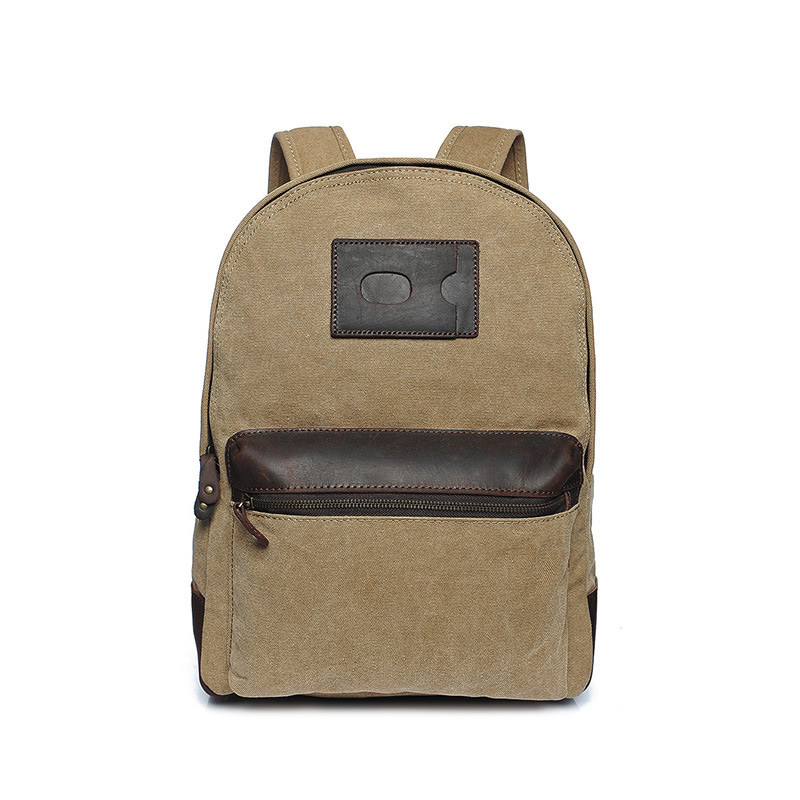 New Brand Canvas Men Backpack College Schoolbags For Teenager Boy Laptop Travel Backpacks Mochila Rucksacks Bolsas new 33 47 brand pu men women backpack college high middle school bags for teenager boy girls laptop travel backpacks