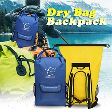 25L Waterproof Dry Bag Storage Dry Sack Bag For Canoeing Trekking Hiking Climbing Outdoor Sport Bags Travel Kit Equipment 2018