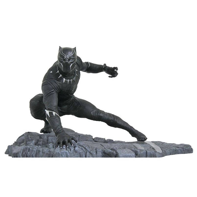 Infinity War 15 cm Super Hero Black Panther Action Figurleksaker - Toy figuriner