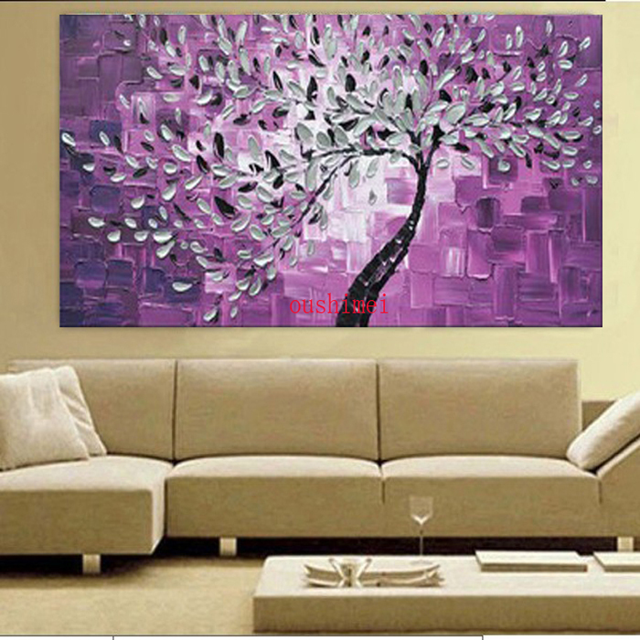 Buy Abstract Art Tree Oil Painting High
