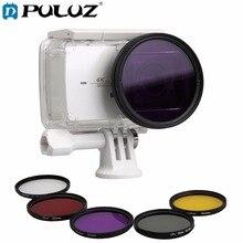 7 in 1 for Xiaomi Xiaoyi Yi II 4K YI 4K+ Sport Action Camera Proffesional 52mm Lens Filter &Waterproof Housing Case Adapter Ring