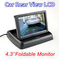 "4.3"" Foldable Color TFT LCD Monitor 4.3 Inch HD Screen For Car Reverse Rear View Camera"