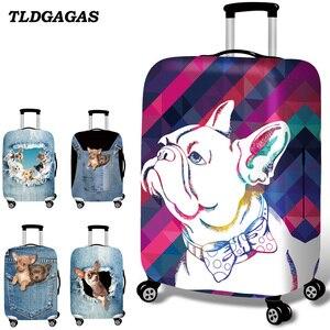 Чехол для чемодана TLDGAGAS, эластичный чехол для чемоданов размером 18-32 дюйма, чехол Чехол для чемодана на колесиках