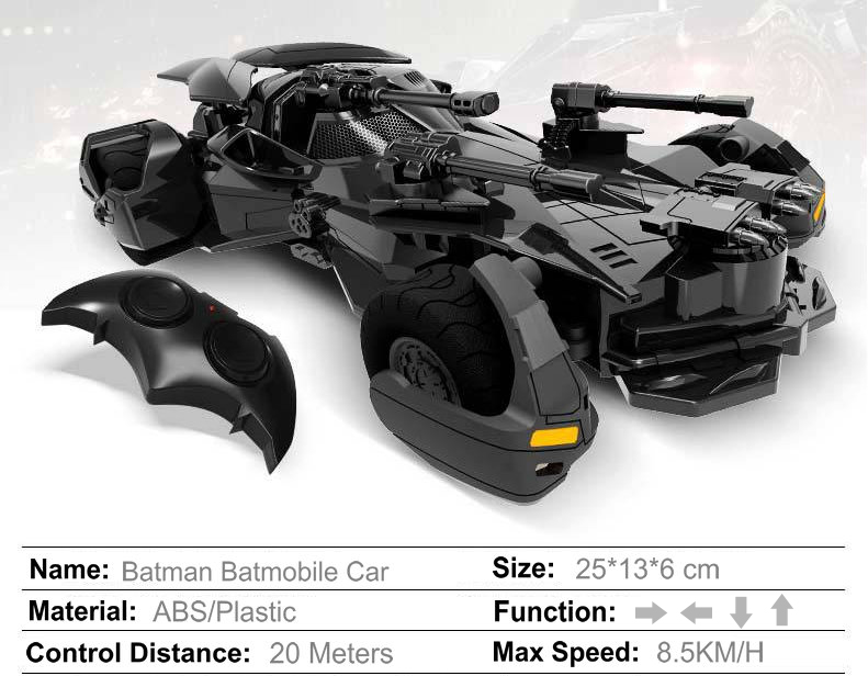 New Arrival Batman Batmobile Car Vehicle Model Toys Dark Knight Mobile Toy for Boy Gift Set HeroTumbler with Action Figure Toy