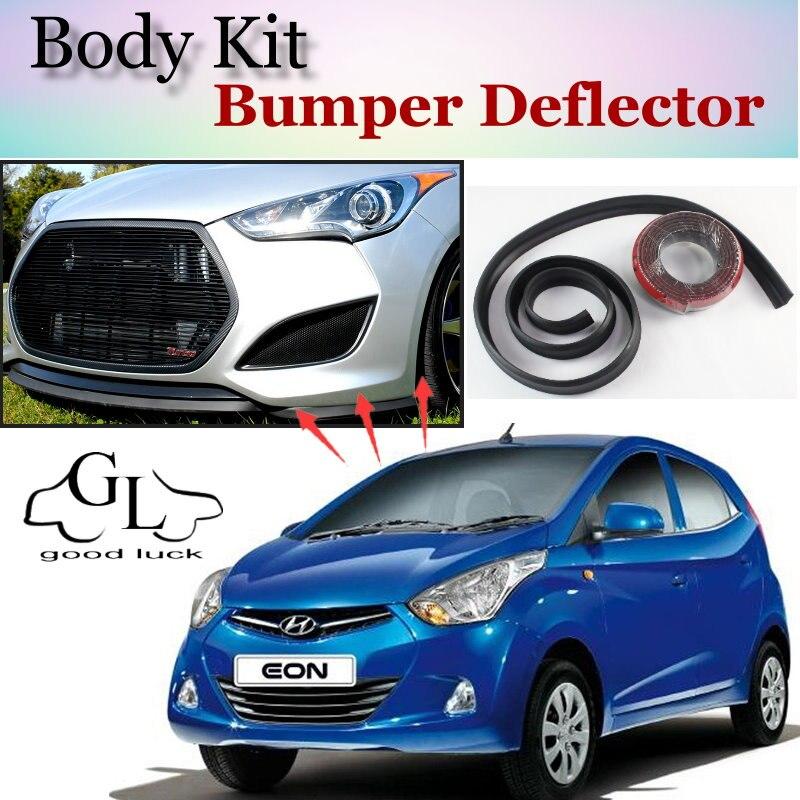 For Hyundai Atos Eon Bumper Lip Front Spoiler Deflector For