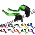 FXCNC CNC Adjustable Racing Long 10 Colors One Pair Brake Clutch Levers For Triumph DAYTONA 600/650 2004-2005 SPEEDMASTER 06-16