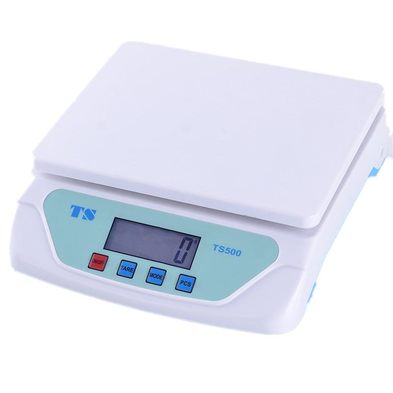 25KG/1G Post Parcel Platform Desktop Electronic Scale Kitchen Household Baking Scale