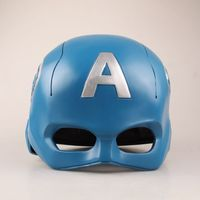 NEW hot diameter Captain America avengers helmet cosplay collectors action figure toys Christmas gift doll