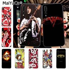 f1962623aeb Maiyaca Eddie Van Halen Graphic Guitar Luxury High-end phone Accessories  Case for Huawei P20