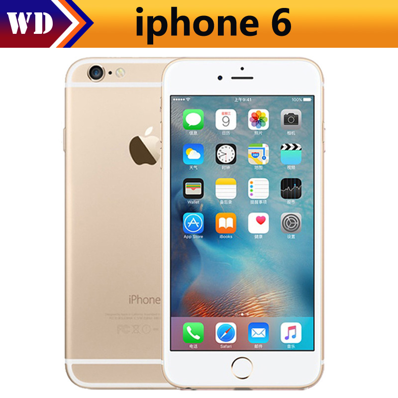 Apple iPhone 6 16GB/64GB 1gb GSM/WCDMA/LTE Fingerprint Recognition Used Unlocked IOS
