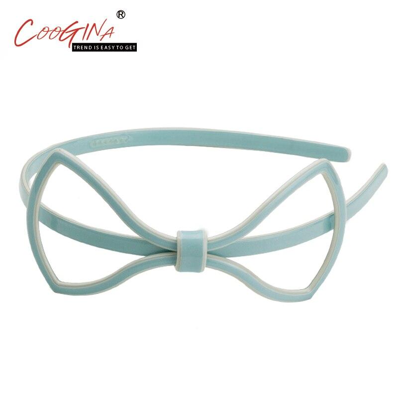 Coogina 2018 New Accessories Para Cabelo Korean Headwear Girls Hair Accessories Korea Cute Black Bow Headband Hair Accessories