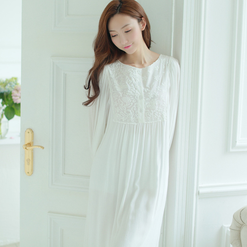 Enchanting White Cotton Gown Model - Images for wedding gown ideas ...