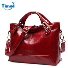 New Women's Handbags Casual All-Match Large Capacity Shoulder Bag Solid Lady High Quality Genuine Leather + PU Casual Totes