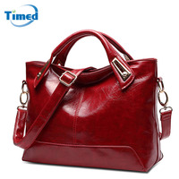 New Women S Handbags Casual All Match Large Capacity Shoulder Bag Solid Lady High Quality Genuine