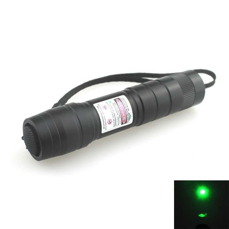 532nm Green Laser Pointer Laser Flashlight (1x16340)