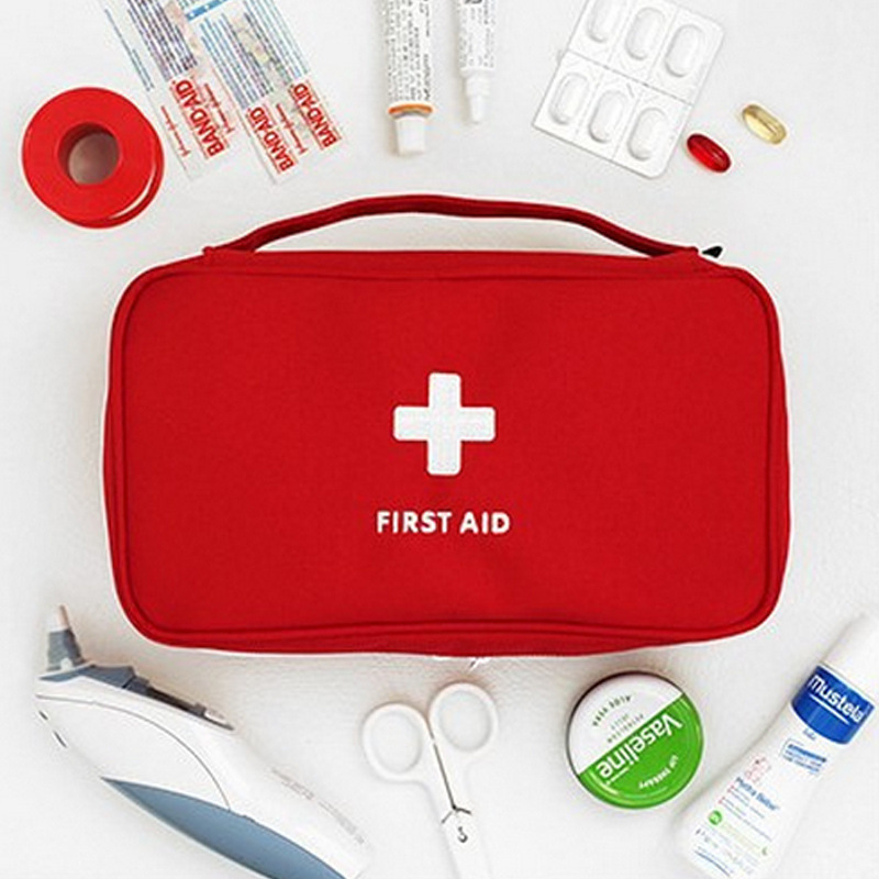 2019 New Style Outdoor First Aid Kit Bag Travel Portable Medicine Package Hunt Emergency Kit Bags Medicine Storage Bag Small Organizer B