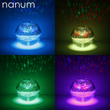 500ml LED Crystal Night Light Projection Humidifier Mini Ultrasonic Humidifiers USB Essential Oil Aroma Diffuser Air freshener
