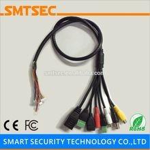 Smtsec sip-E-ug кабель ug RJ45+ BNC+ DC+ USB+ аудио Вход+ аудио выход+ RS485+ сигнализация для SIP-серии e IP Камера модуль двойной борт