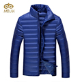 4XL 3XL Большой Размер Твердых Толщиной Горячая Зима Человек Вино Черный синий Темно-синий Белый Воротник Вниз Пальто Куртка Марка Одежда для люди