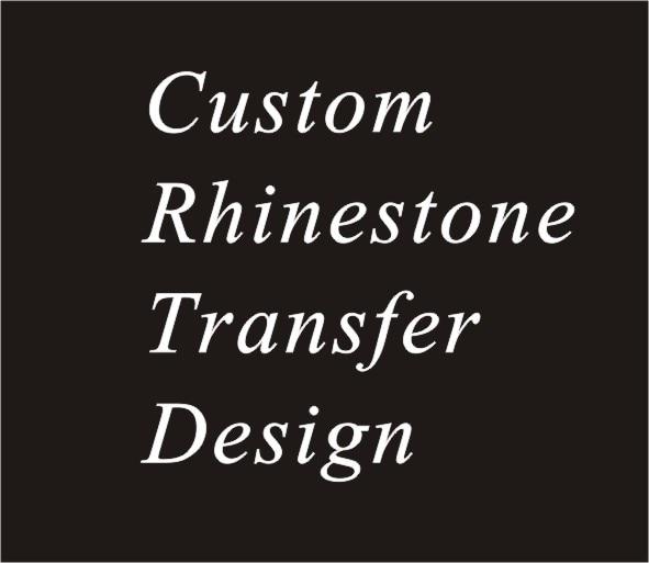 20 ชิ้น/ล็อต custom rhinestone transfer,hot fix rhinestone motif,เหล็กบน rhinestone motif-ใน พลอยเทียม จาก บ้านและสวน บน   1