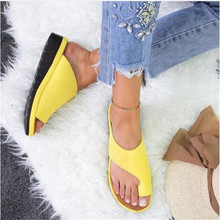 цены Drop Shipping Woman Outdoor Slippers 2019 New Fashion Mid-heel Wedge Soft Bottom Comfortable Sandals