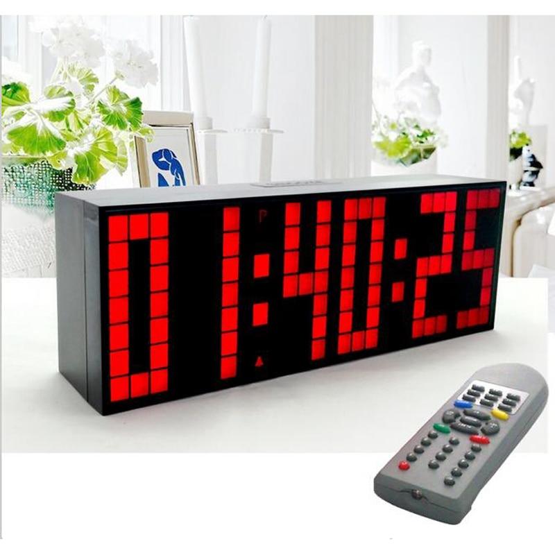 Ψηφιακό Μεγάλο Big Jumbo LED Ξυπνητήρι - Διακόσμηση σπιτιού - Φωτογραφία 4