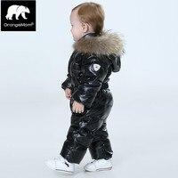Мода 2018 пальто зимнее для девочки, теплая пальто зимнее для девочки пальто водонепроницаемый детская одежда дети куртка снег износ