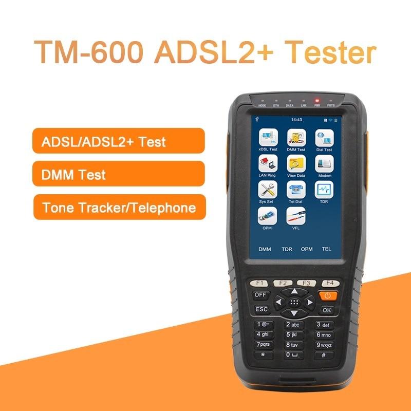 TM-600 ADSL ADSL2+ Tester ADSL WAN & LAN Tester xDSL Line Test with Tone Tracker function