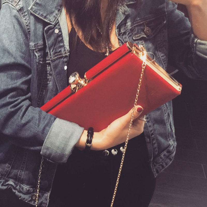 New Simple Style Designer Women Handbags 2016 PU Leather Crossbody Bags 3 Color Available Small Fashion Clutch Bags For Female