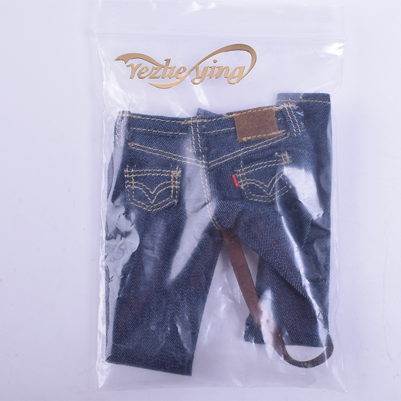 1/6 Scale Women's Clothes Annex Female skinny Jeans Tight CF001 A/B/C for 12 Inch PH Doll Jiaoudol BodyAction Figure Accessories-4