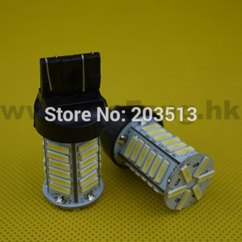 10pcs/lot 2016 new design Auto car lighting WY21W W21/5W t20 36 smd 7443 36 leds 7014SMD nice color bulb Free shipping