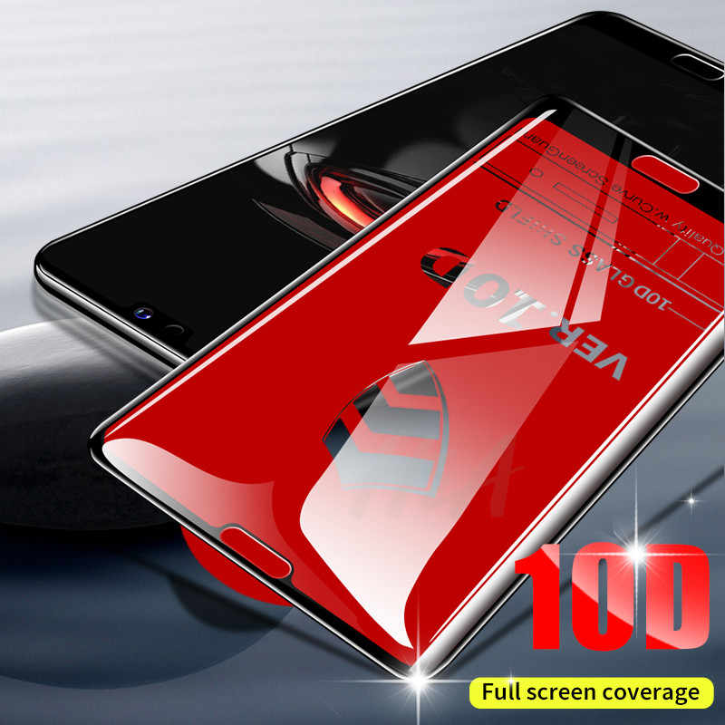 H&A 10D Full Cover Protective Glass For Huawei Honor 10 9 Lite Tempered Glass For Huawei P20 P10 Lite Plus P20 Pro Glass Film