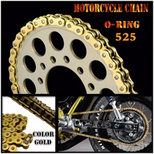 Motorcycle Drive Chain O-Ring 525 L120 For BMW F 650 GS 08-11 F 800 GS (K-72) 08-09 F 800 R (K-73) 09-10 S 1000 RR (K-46) 09-1