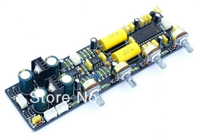 LM4610 Volume Control Board with 3D surround Equiloudne