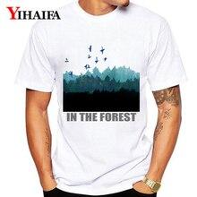 Mens T Shirts Fashion Summer Tree 3D Print Men Women Plus Size Graphic Tees Casual Unisex White Tee Shirt Simple Tops
