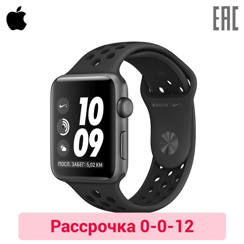 Купить со скидкой Смарт-часы Apple Watch Nike+ 42 мм Aluminium, спортивный ремешок