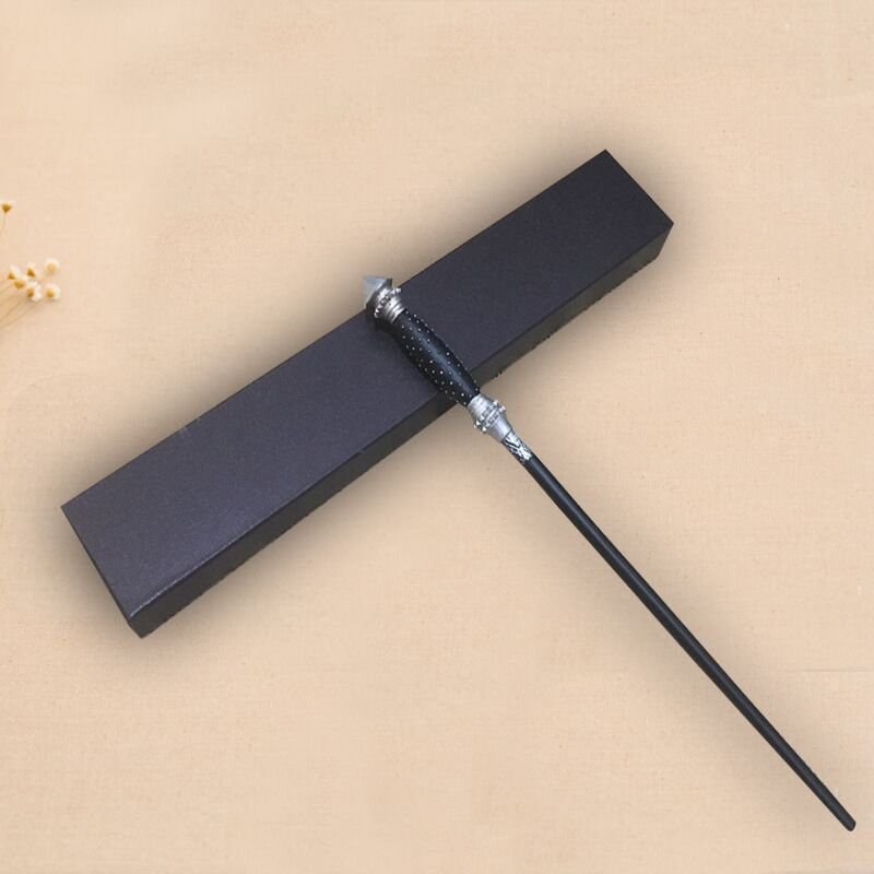 Colsplay Metal Core Newest Quality Deluxe COS Narcissa Black Malfoy Magic Wands/Stick With Gift Box Packing Harri Potter