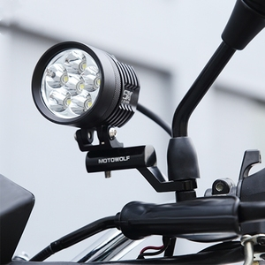 Image 3 - חדש אופנוע התרחבות מתלה אחורית כידון מירור הר מתאם אופנוע אור הרחבת סוגר טלפון בעל Stand