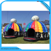 Inflatable bouncer inflatable disco dome tent for sale