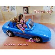 Yeni Varış Barbie Bebek Evi Minyatür Mobilya için Seyahat Araba Klasik Oyuncaklar Kız Ücretsiz Nakliye için