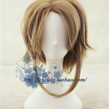 Game Legend of Zelda Link Comic-con Cosplay Wig Role Play Brown hair costumes